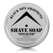 "BOG - Luxury Shaving Soap - ""Stealth"" (Unscented)"