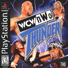 WCW/nWo Thunder  - PS1 (Used, With Book)