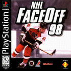NHL FaceOff 98 - PS1 (Used, With Book)