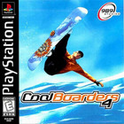 Cool Boarders 4 - PS1 (With Book)