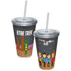 Star Trek Pixilated Trexel Cup With Straw