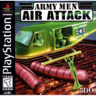 Army Men: Air Attack - PS1 (Used, With Book)
