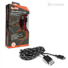 PS4/ X1/ PS Vita 2000 Micro USB Charge Cable (Black/Grey) - Hyperkin Polygon