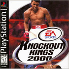 Knockout Kings 2000 - PS1 (Used, With Book)
