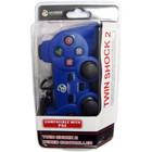 PS2 WIRED CONTROLLER - BLUE (HYDRA)