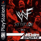WWF Attitude - PS1 (Used, With Book)
