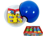 Pokemon Balls - Mini Figures With Suction Cups And Coin Bank