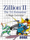 Zillion II: The Tri Formation - Sega Master System (Used, Box, No Book)