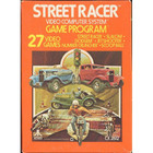 Street Racer - Atari 2600 (With Box and Book)