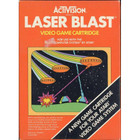 Laser Blast - Atari 2600 (With Box and Book)