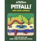 Pitfall!  - Atari 2600 (With Box and Book)