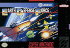 Earth Defense Force - SNES (cartridge only)