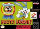 Tiny Toon Adventures: Buster Busts Loose - SNES - cartridge only