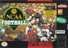 NCAA Football - SNES (cartridge only)