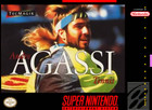 Andre Agassi Tennis - SNES (cartridge only)