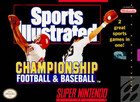 Sports Illustrated Championship Football & Baseball - SNES (cartridge only)