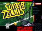 Super Tennis - SNES  (cartridge only)