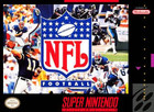 NFL Football - SNES  (cartridge only)