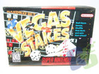 Vegas Stakes - SNES (With Box and Book)
