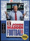 John Madden Football '93 - Sega Genesis