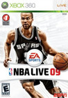 NBA Live 09 - XBOX 360 (Disc Only)