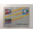 Super Mario Bros./Duck Hunt/ World Class Track Meet Instruction Booklet - NES