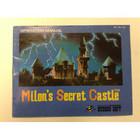Milon's Secret Castle Instruction Booklet - NES