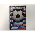 Champions World Class Soccer Instruction Booklet - SNES