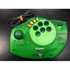 Topmax Dreamcast Fight Stick - Used (Green)