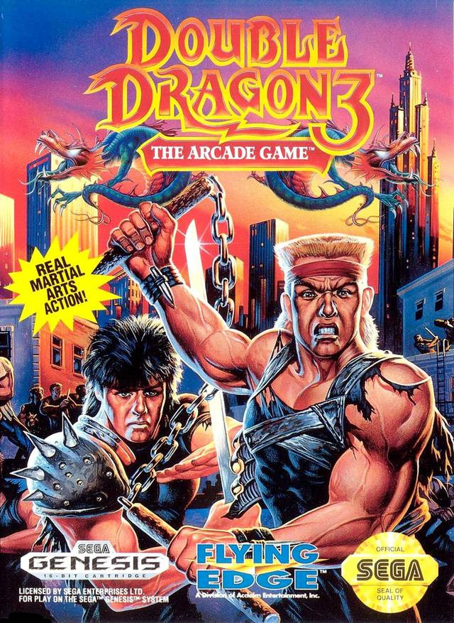 Double Dragon 3: The Arcade Game - Sega Genesis (Cartridge Only)