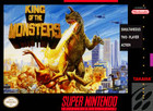 King of the Monsters - SNES (Cartridge only)