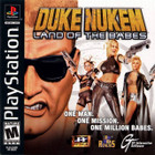 Duke Nukem: Land of the Babes - PS1 (Disc Only)