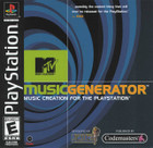MTV Music Generator - PS1 (Disc Only)