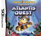 Crazy Chicken: Jump'N Run Atlantis Quest - DS (Cartridge Only)