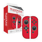 Switch Joy-Con Silicone Skins (Neo Red)  - Hyperkin