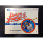 Bases Loaded II Instruction Booklet - NES