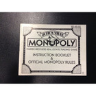 Monopoly Instruction Booklet - NES