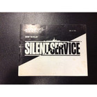 Silent Service Instruction Booklet - NES