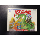 Astyanax Instruction Booklet - NES
