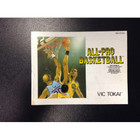 All Pro Basketball Instruction Booklet - NES