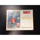 The Little Mermaid Instruction Booklet - NES