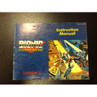 Bionic Commando Instruction Booklet - NES