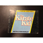 The Karate Kid Instruction Booklet - NES
