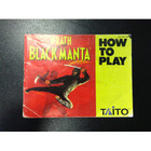 Wrath of the Black Manta Instruction Booklet - NES