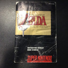 The Legend of Zelda: A Link to the Past Instruction Booklet - SNES