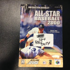 All-Star Baseball 2000 Instruction Booklet - N64