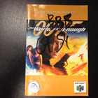 007: The World Is Not Enough Instruction Booklet - N64