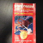 Space Cavern Instruction Booklet - Atari 2600