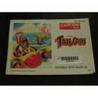 Tale Spin Instruction Booklet - NES