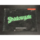 Shadowgate Instruction Booklet - NES